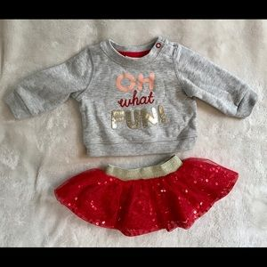 cat jack matching sets euc cat jack newborn christmas outfit